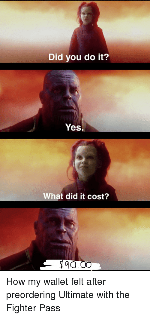 Did Vou Do It? Yes What Did It Cost? How My Wallet Felt