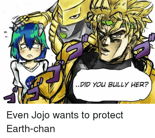 Anime Yo And Earth DID YO BULLY HER Even Jojo