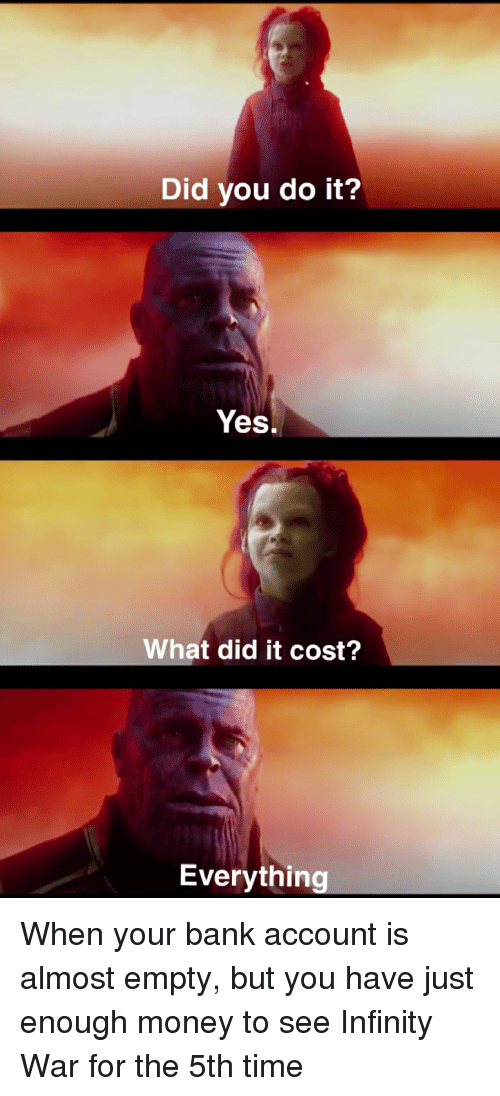 What did it cost everything