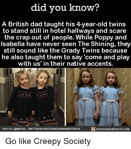 Did You Know A British Dad Taught His 4 Year Old Twins To Stand