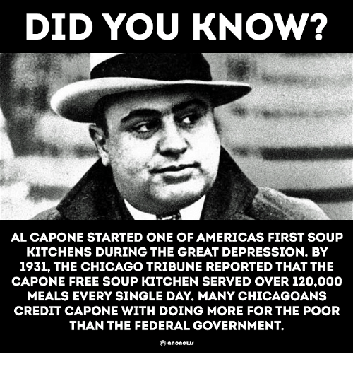 Chicago, Memes, And Al Capone: DID YOU KNOW? AL CAPONE STARTED ONE
