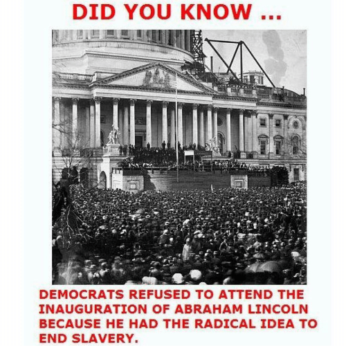 Did You Know Democrats Refused To Attend The Inauguration