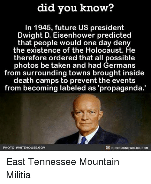 Did you know in 1945 future us president dwight d eisenhower future memes and militia did you know in 1945 future us publicscrutiny Image collections