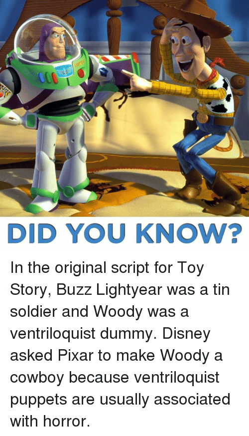 Did You Know In The Original Script For Toy Story Buzz Lightyear