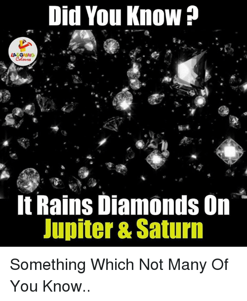 It Rains Diamonds