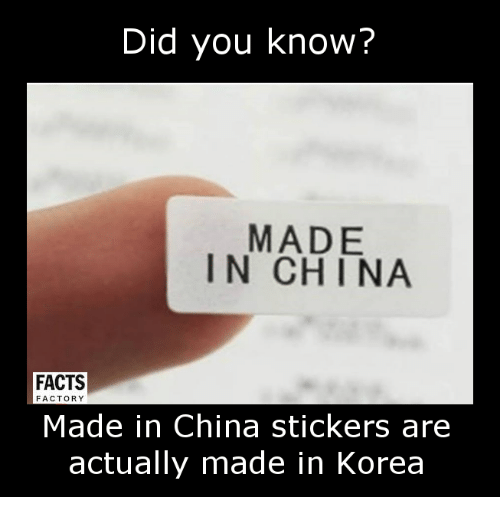 Did You Know Facts Funny