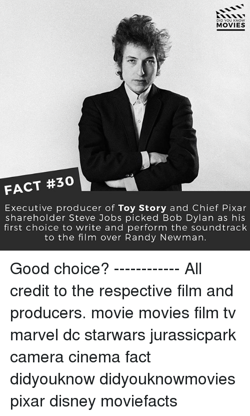 DID YOU KNOW MOVIES FACT #30 Executive Producer of Toy Story and ...