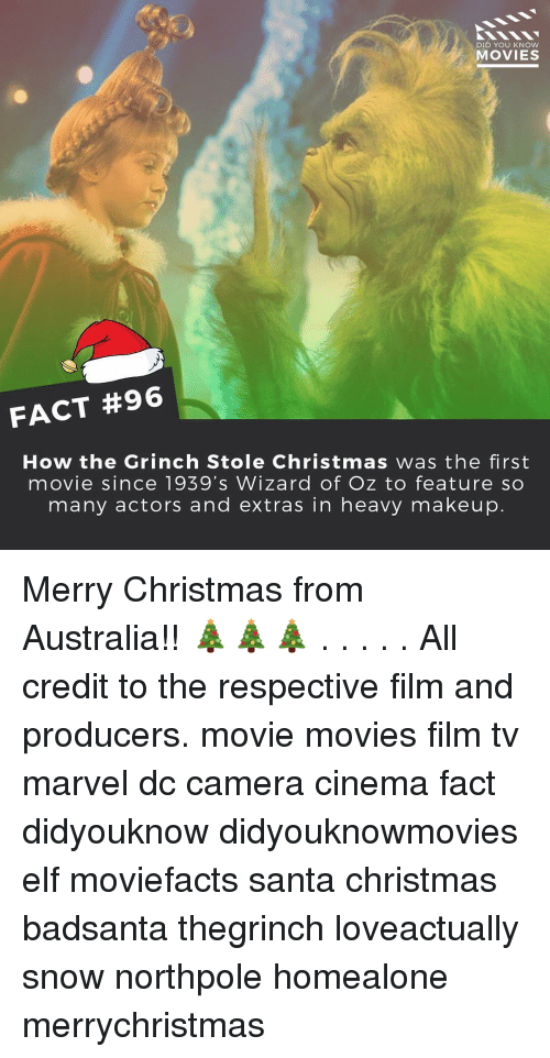 Elf, The Grinch, and How the Grinch Stole Christmas: DID YOU KNOW MOVIES
