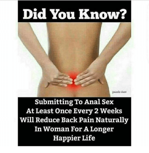 How to reduce pain during anal sex