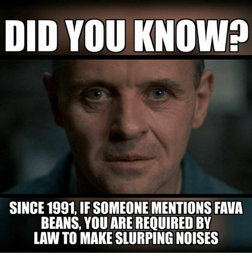 Fava beans quote