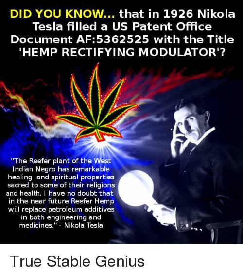 DID YOU KNOw That in 1926 Nikola Tesla Filled a US Patent