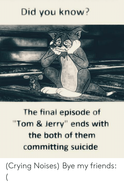 Did You Know The Final Episode Of Tom Jerry Ends With The Both