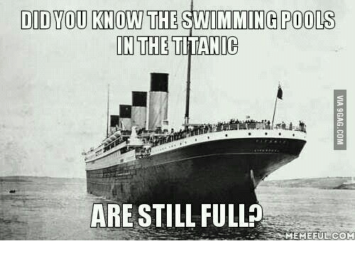 DID YOU KNOW THE SWIMMING POOLS ON THE TITANIC ARE STILL