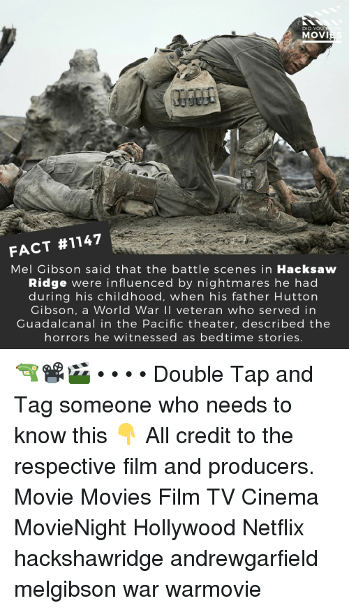 DID YOU MOVI FACT #1147 Mel Gibson Said That the Battle Scenes in