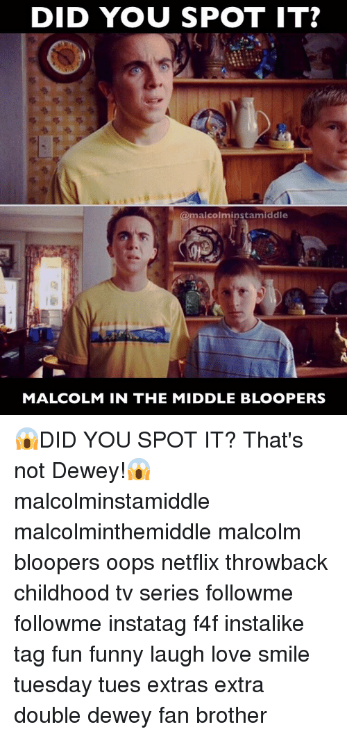 did you spot it u malcolm in the middle bloopers did you spot it