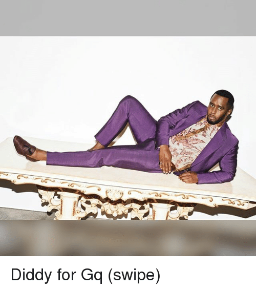 Memes, Diddy, and 🤖: Diddy for Gq (swipe)