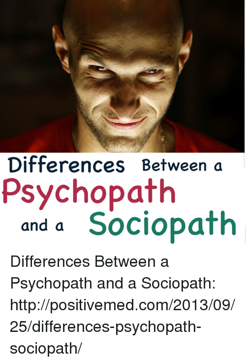 whats the difference between a psychopath and a sociopaths