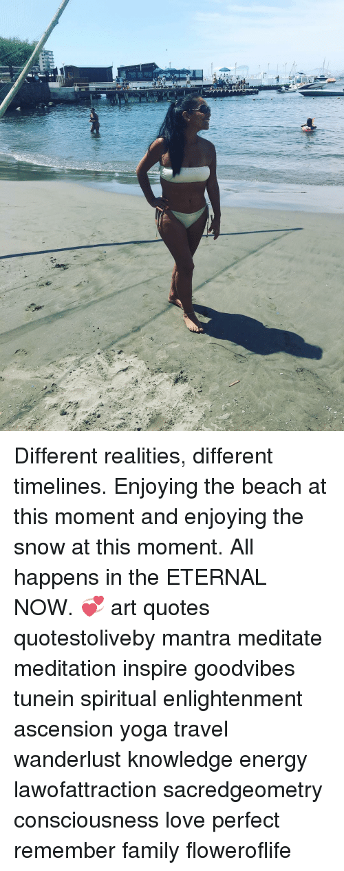 Different Realities Different Timelines Enjoying The Beach At This