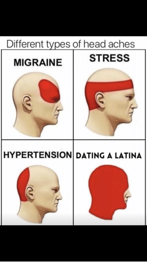 dating a latina headache