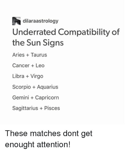 aquarius signs compatibility