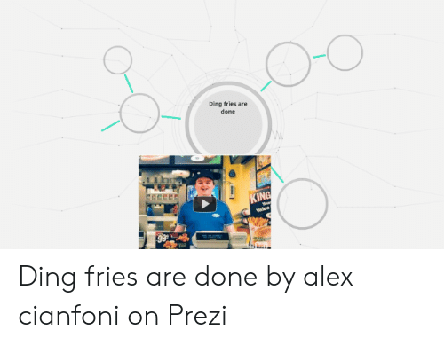 Ding Fries Are Done IN Ding Fries Are Done by Alex Cianfoni