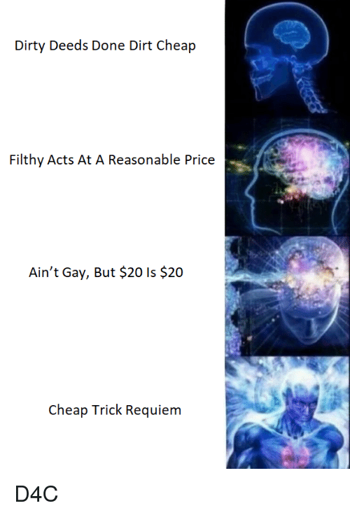 Is cheap trick gay
