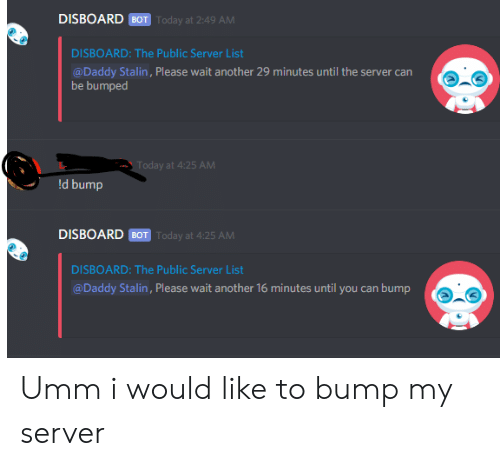 DISBOARD BOT Today at 249 AM DISBOARD the Public Server List