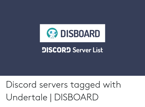 DISBOARD DISCORD Server List Discord Servers Tagged With