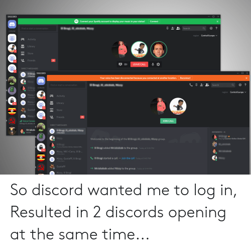 DISCORD Connect Your Spotify Account to Display Your Music