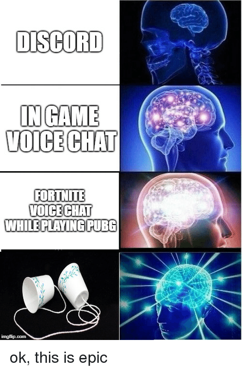 DISCORD INGAME VOICE CHAT FORTNITE O CECHAI WHILE PLAYING