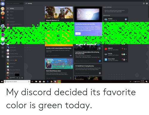DISCORD X Activity Find or Start a Conversation QUICK LAUNCHER