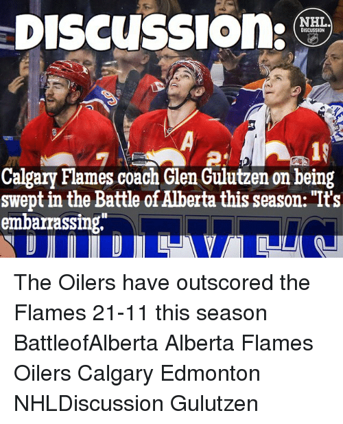 discussion nhl discussion calgary flames coach glen gulutzen on being 12857739 discussion nhl discussion calgary flames coach glen gulutzen on