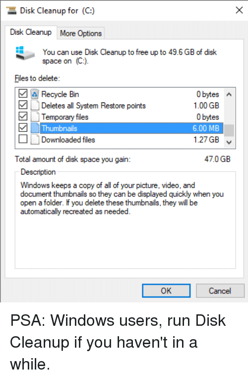 windows cleanup downloaded files