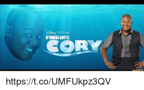 Funny, Pixar, and Coeds: DisNE PIXAR  FINDING  CORY  tfunny.ce https://t.co/UMFUkpz3QV