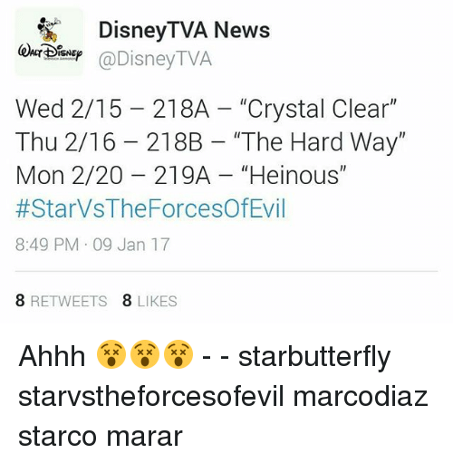 Disney TVA News TVA Disney Wed 215 218A Crystal Clear Thu