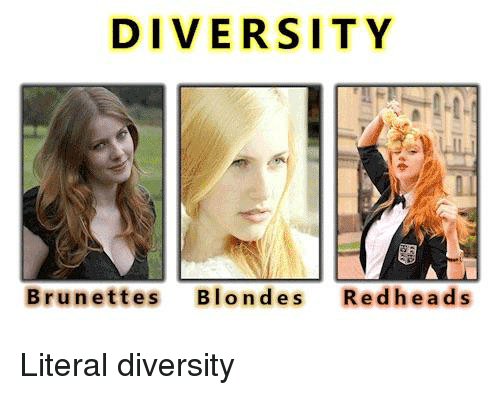 Blondes or redheads