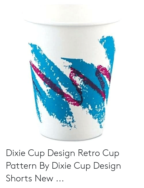 Dixie Cup Design Retro Cup Pattern by Dixie Cup Design