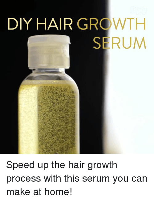 Diy Hair Growth Serum Speed Up The Hair Growth Process With