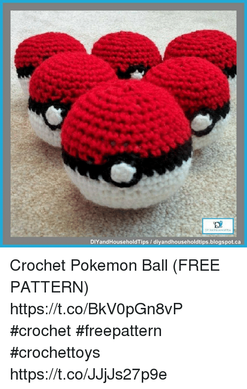 DIY Crochet Pokeball! PokemonGo Amigurumi. – The Crafty Mummy | 786x500
