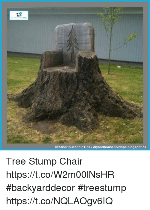 Memes, Blogspot, And Tree: DIYandHouseholdTips /  Diyandhouseholdtips.blogspot.ca Tree Stump