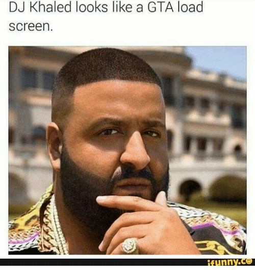 DJ Khaled And Loaded Looks Like A GTA Load Screen