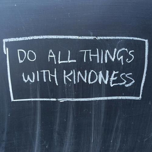 All,  Things, and With: DO ALL THINGS  WITH KINONESS