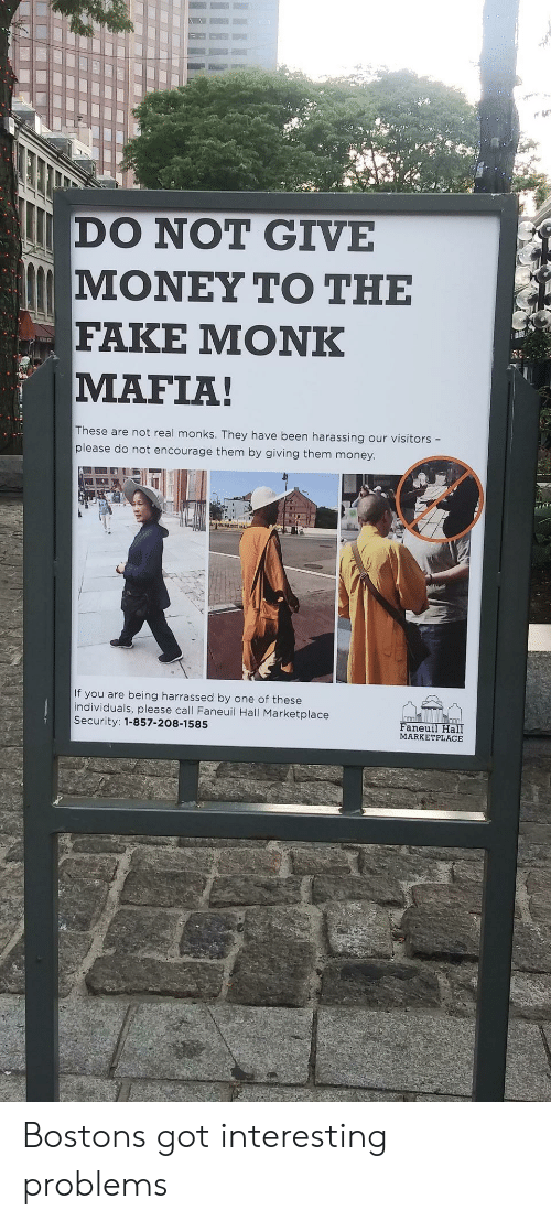 DO NOT GIVE ΜΟΝΕΥ ΤΟ ΤΗΕ FAKE ΜΟNK MAFIA! These Are Not Real