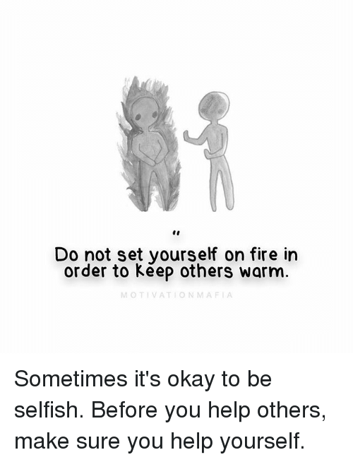 Do not keep that to yourself