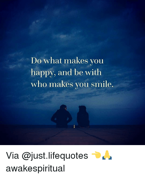 what makes you smile