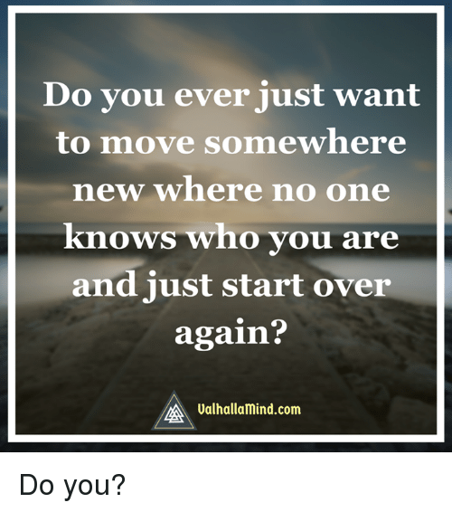 i just want to move on