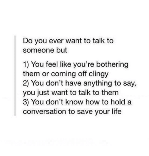How To Tell Someone You Need To Talk