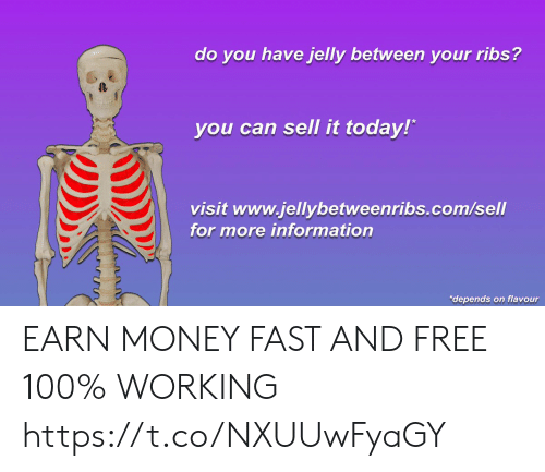Do You Have Jelly Between Your Ribs? T You Can Sell It Today! Visit