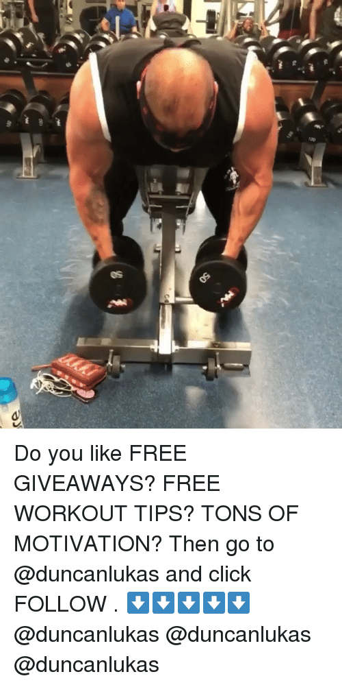 Exercise devices giveaways