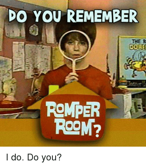 They Never Called My Name On Romper Room